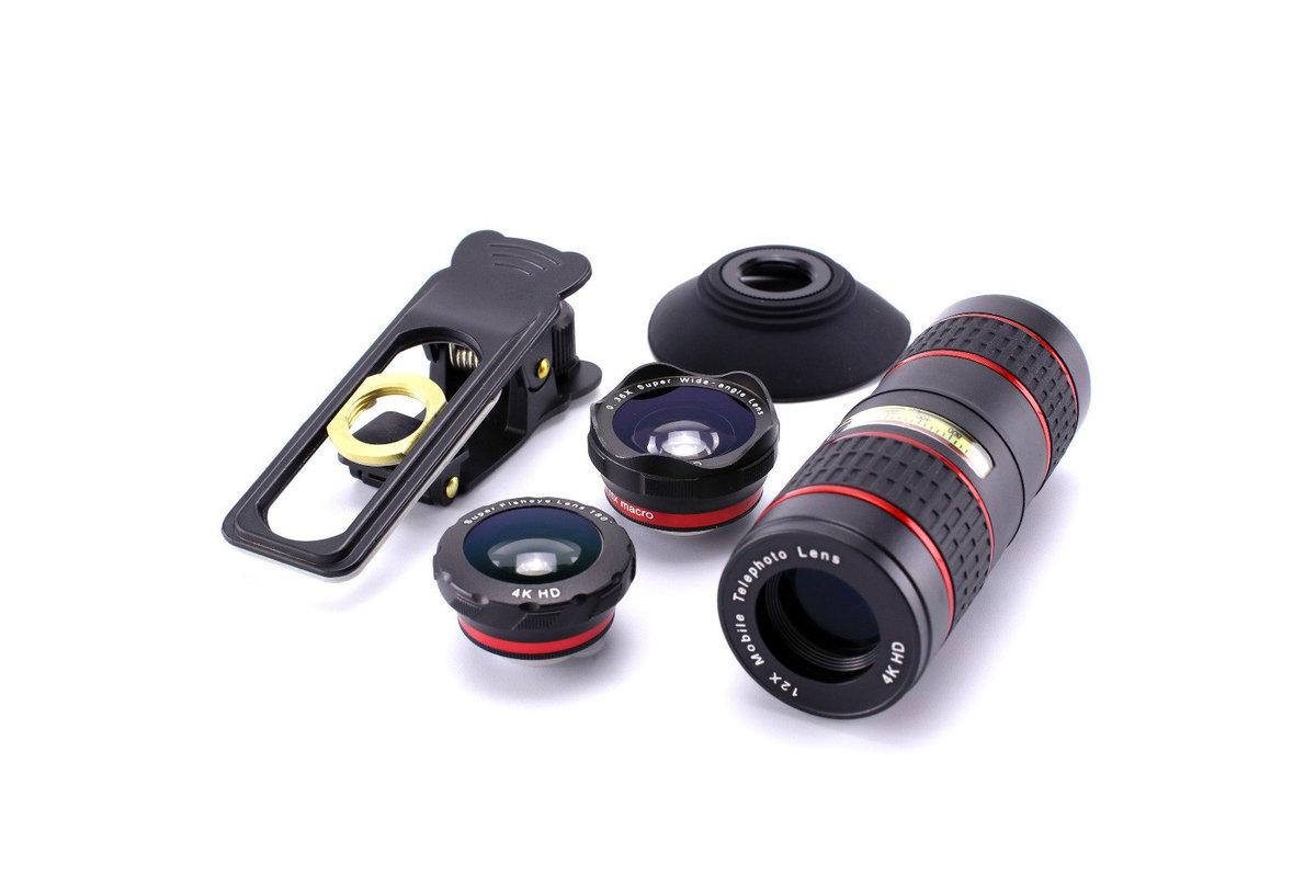 12X 5in1 Telephoto Lens Kit 手機遠攝長鏡頭套裝