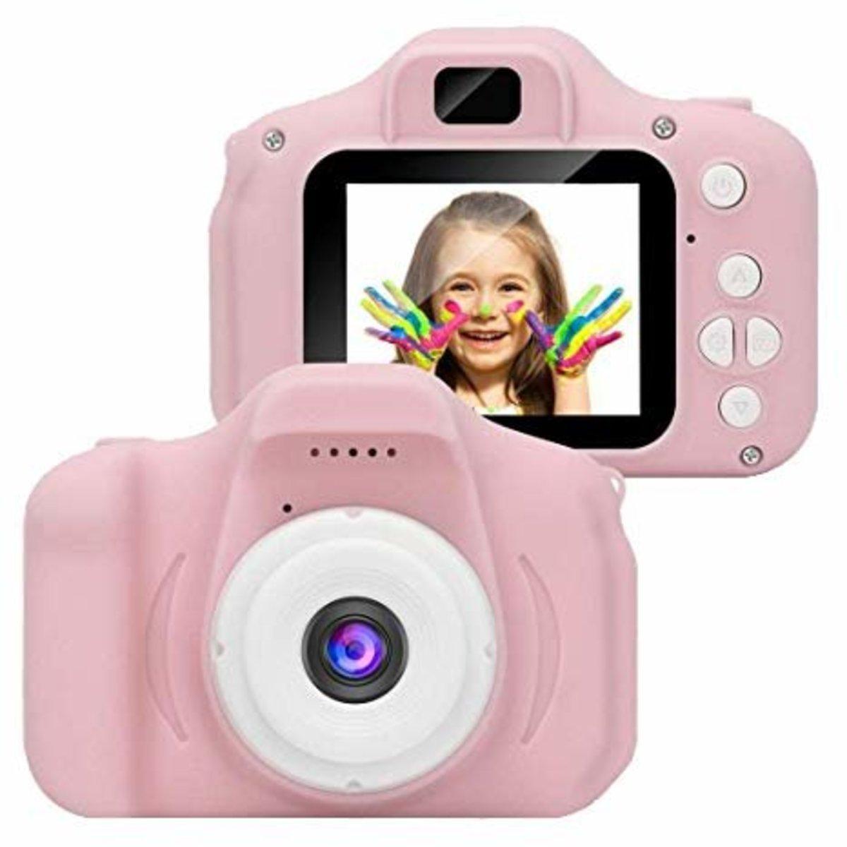 X2 兒童數碼相機 (粉紅色) - 兒童,教材,玩具,禮物