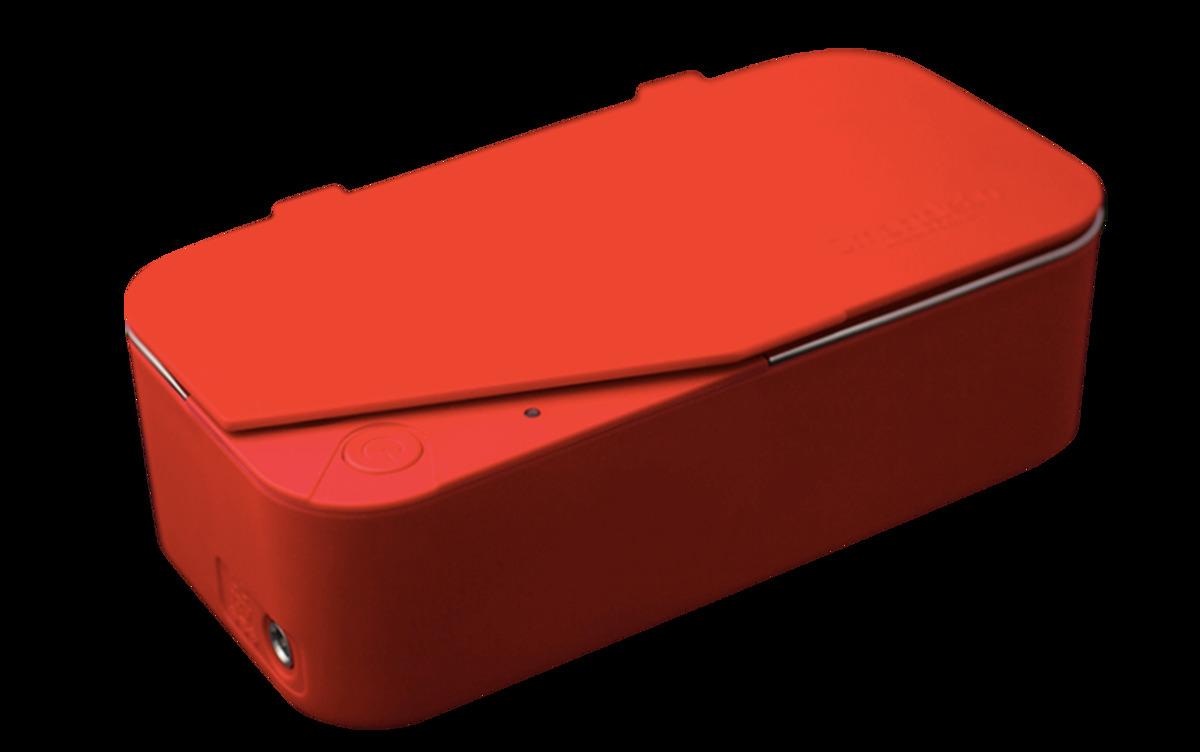 Eyeglasses Ultrasonic Cleaner VISION. 5 - Red