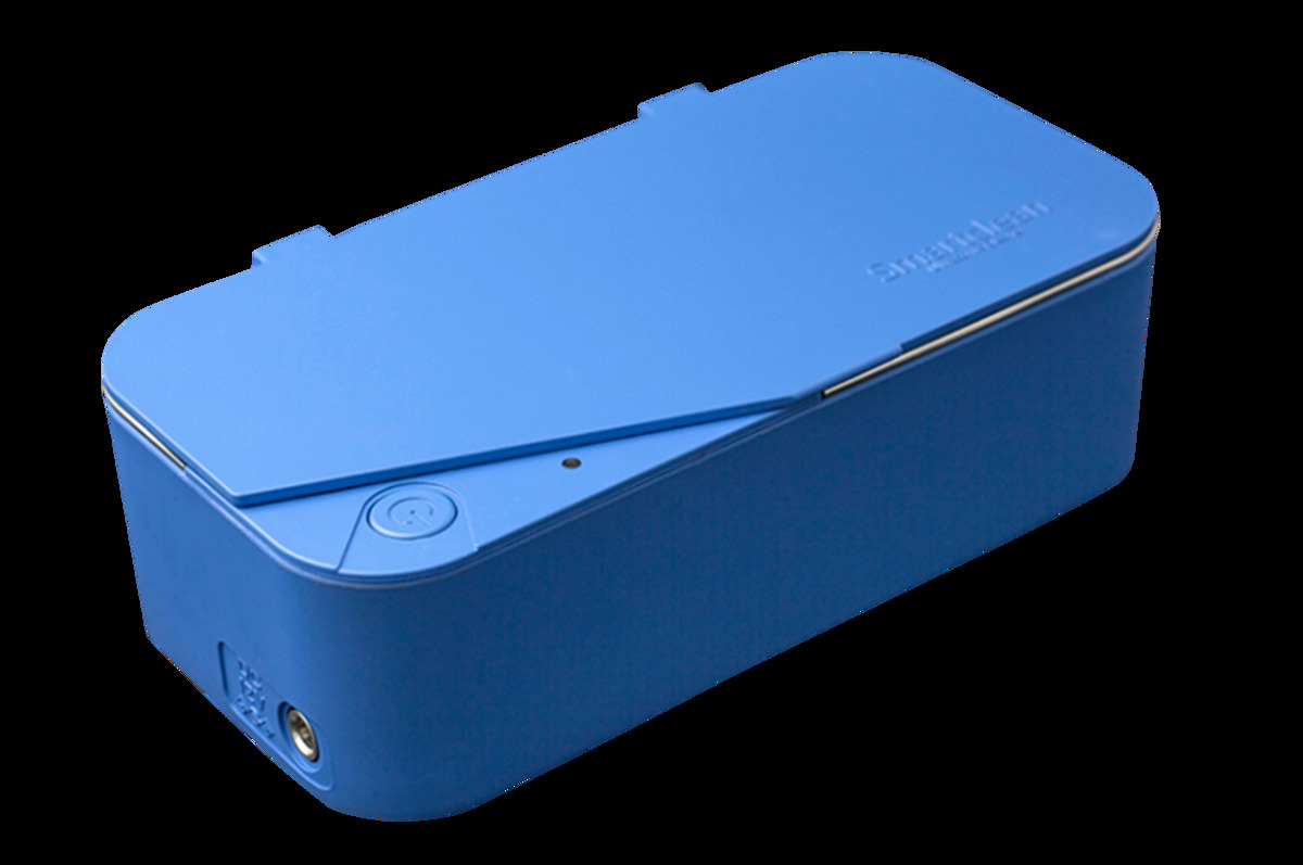 Smartclean 超聲波清洗器 洗眼鏡機 洗銀器(Blue)