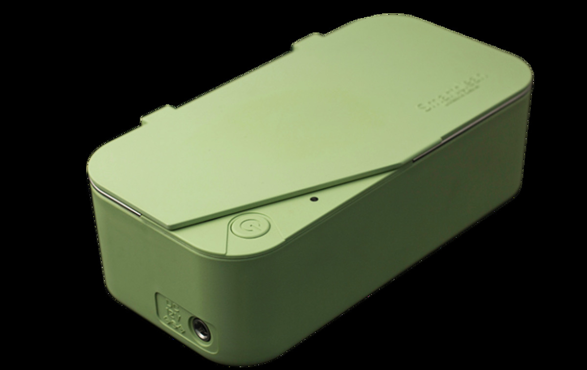 Smartclean 超聲波清洗器 洗眼鏡機(Green)