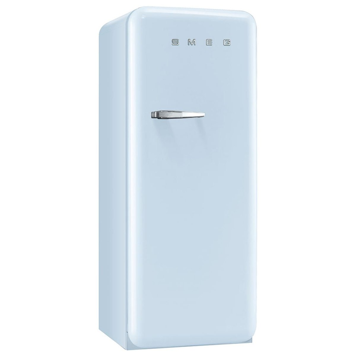 FAB28QAZ1, 50's style Refrigerator with ice compartment, Pastel Blue,Right hand hinge