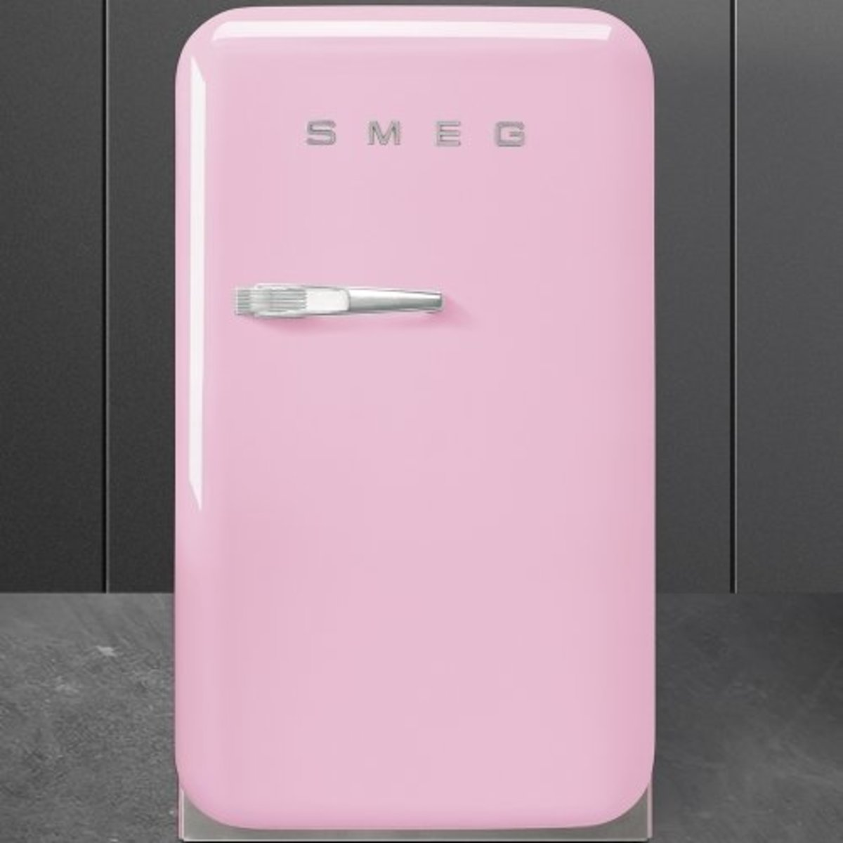 50's style minibar cooler,31L, Pink ,FAB5RPK [Not require any removal service] (Pre-order)