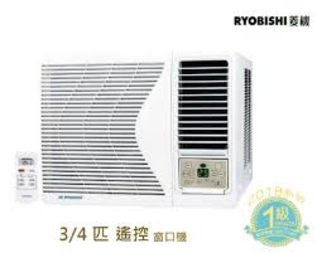 RB07CA 3/4匹搖控 窗口式冷氣機