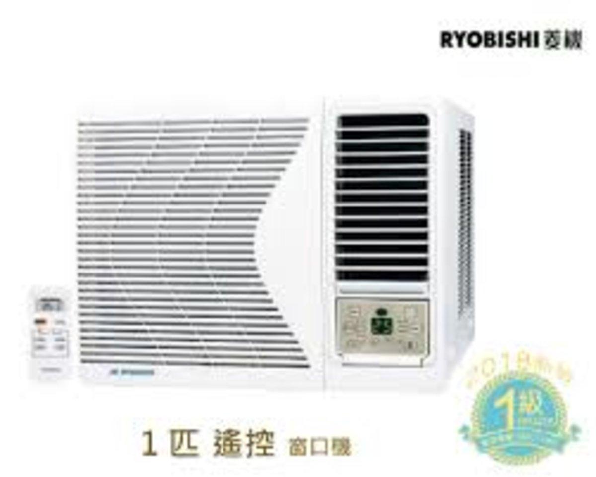 RB09CA 1匹搖控 窗口式冷氣機