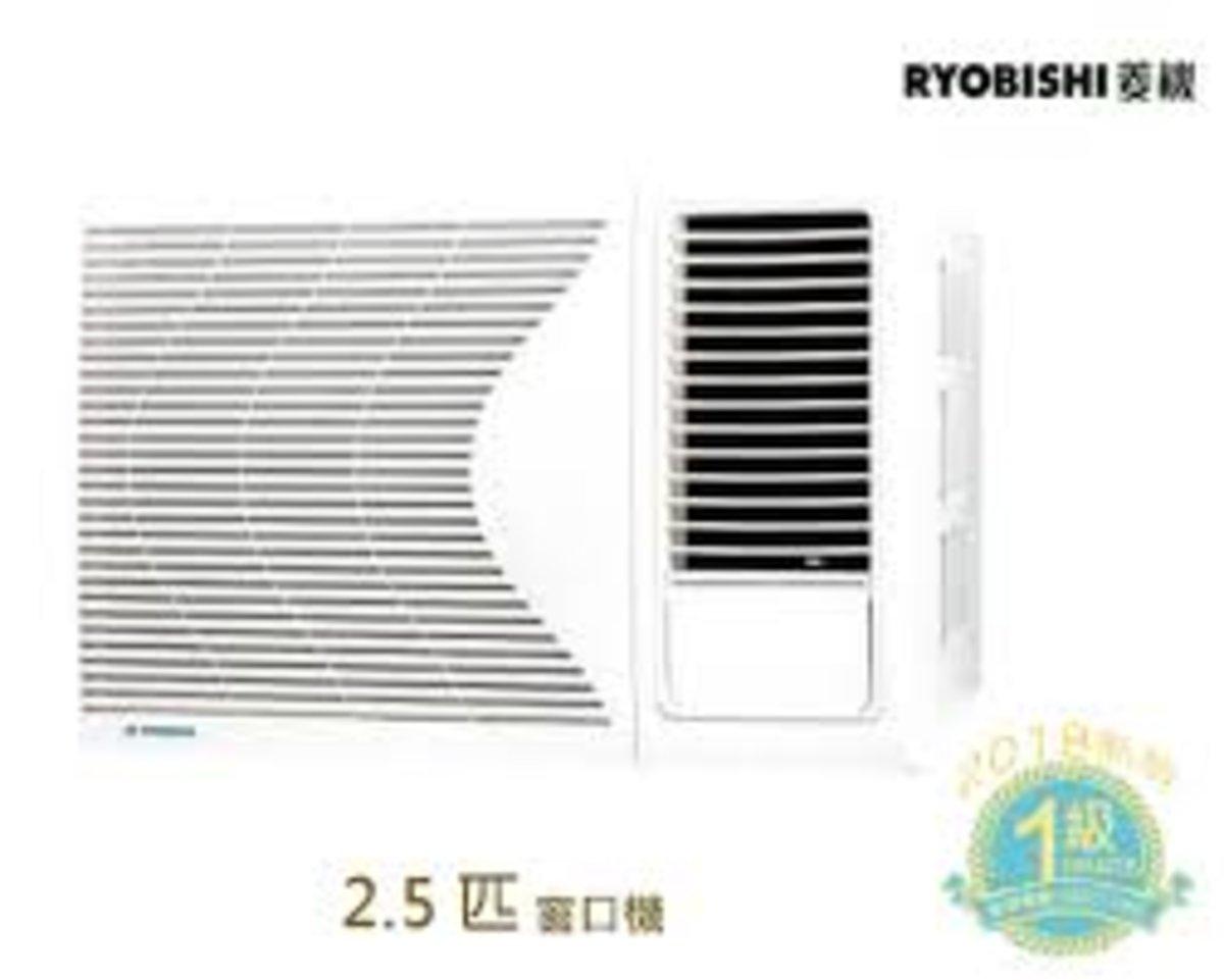RB24MA 2.5匹 窗口式冷氣