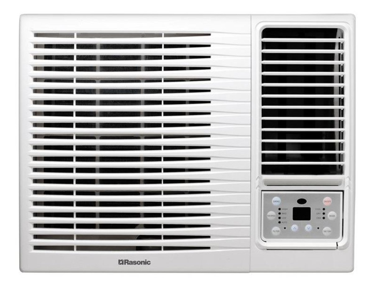 RC-X9 Window Type Air Conditioner (Cooling Only Remote Control Type) (1.0HP)