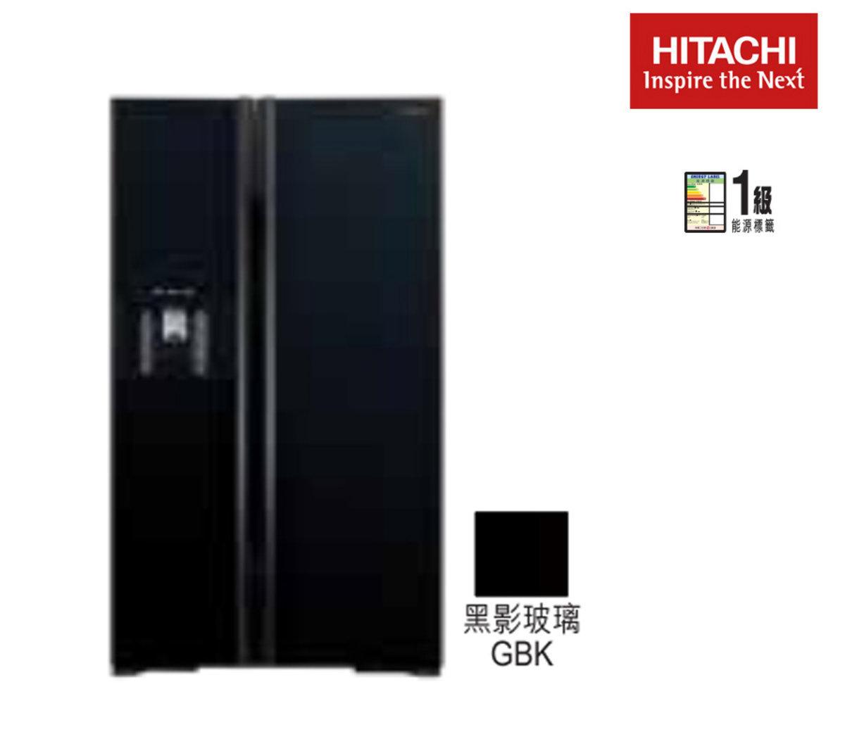 Side-by-side Refrigerator (Glass Black) R-S700GP2HGBK