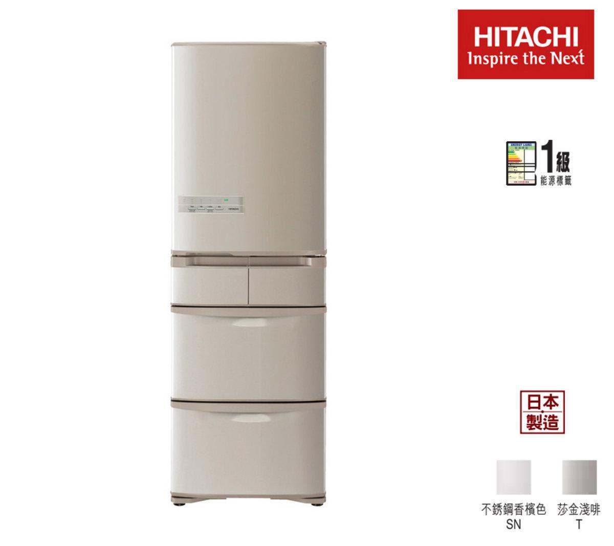 Mulri-Door Refrigerator 360L (Strainless Champangne) R-SF48GHSN