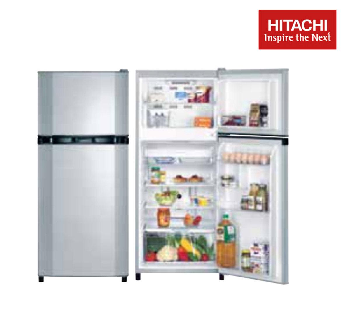 2-Door Refrigerator 169L (Silver) R-T170E7H