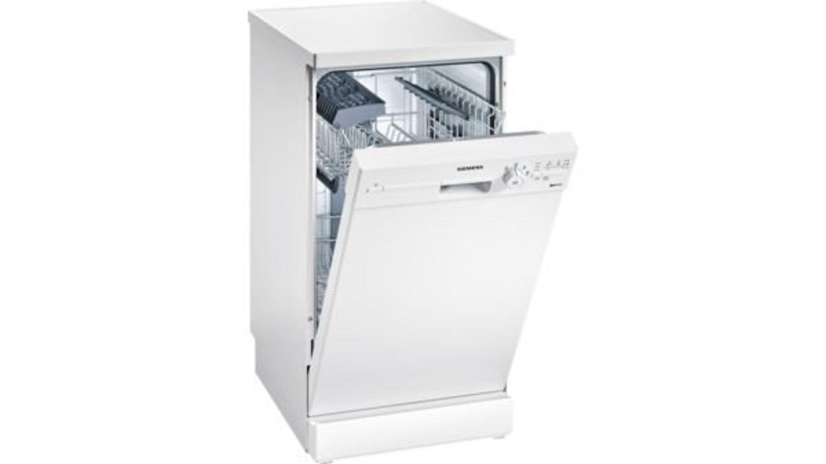 iQ100 Freestanding dishwasher 45cm White SR24E205EU