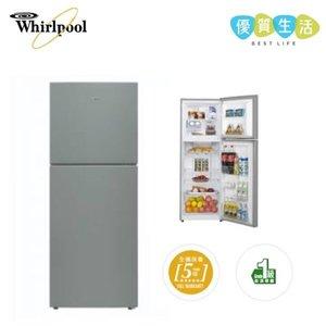 惠而浦 WF2B281LPS 雙門雪櫃下置式急凍室 / 285公升 / 左門鉸