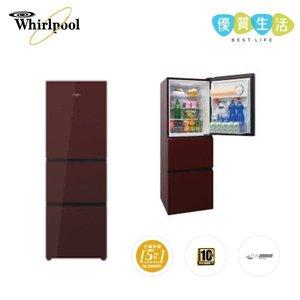 惠而浦 WF3B270RGB 三門雪櫃 下置式急凍室 / 241公升 / 右門鉸