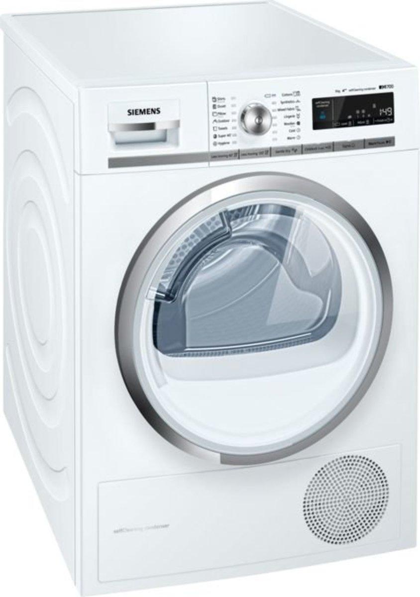 iQ700 Heat pump dryer 9KG WT47W540BY