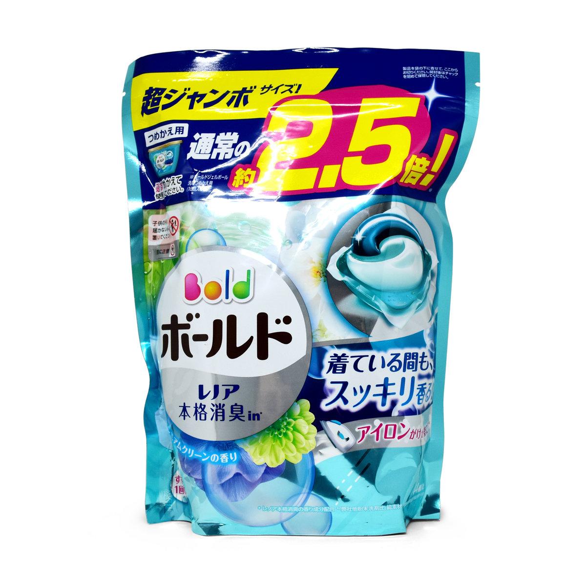 Ariel Power Gel Ball 3D Refill (BLUE) x44pcs (4902430690539)