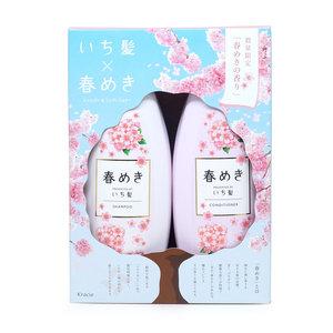 ICHIKAMI KRACIE ICHIKAMI 修復保濕 洗護套裝 480ml+480g (櫻花限定版) (4901417781864)