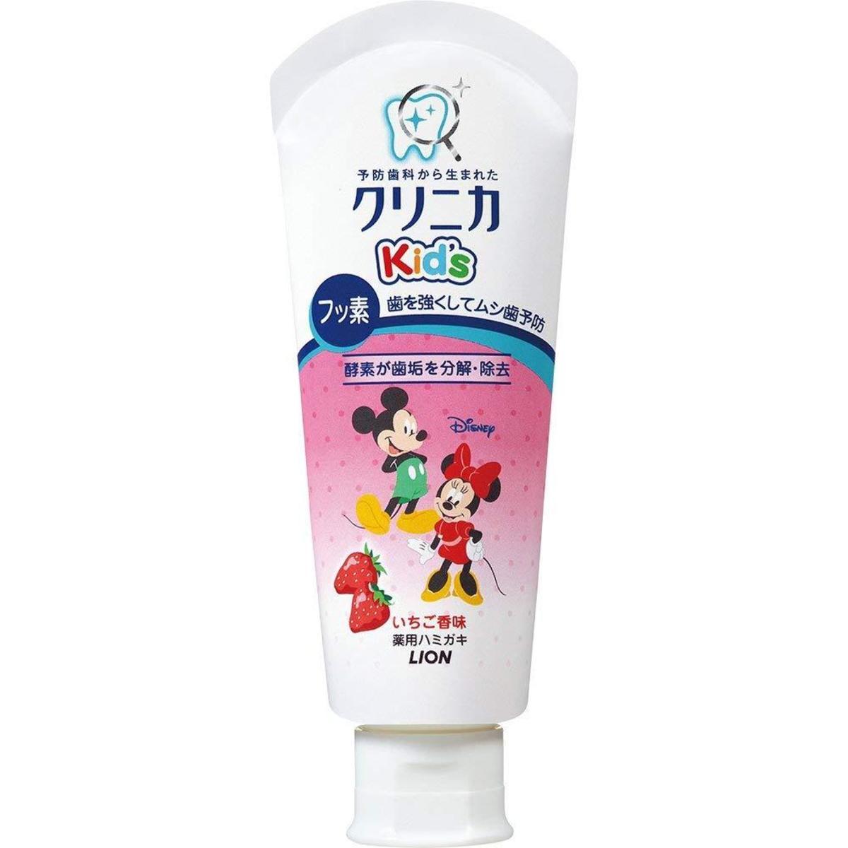 Mickey Kid's 學齡款兒童牙膏 (6-12歲適用) 60g  草莓味
