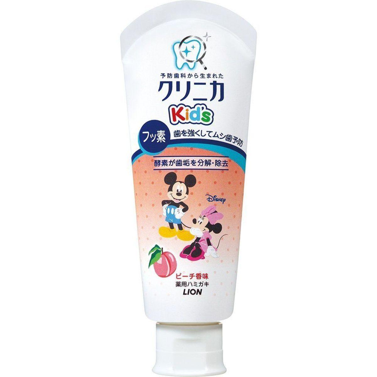 Mickey Kid's 學齡款兒童牙膏 (6-12歲適用) 60g  桃味