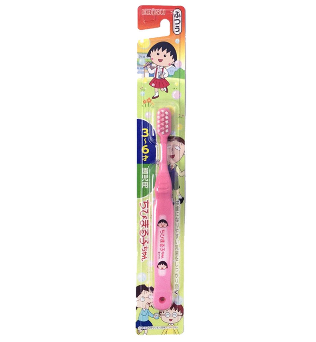 3-6歲幼童牙刷 (櫻桃小丸子) - (顏色隨機發貨) x1支