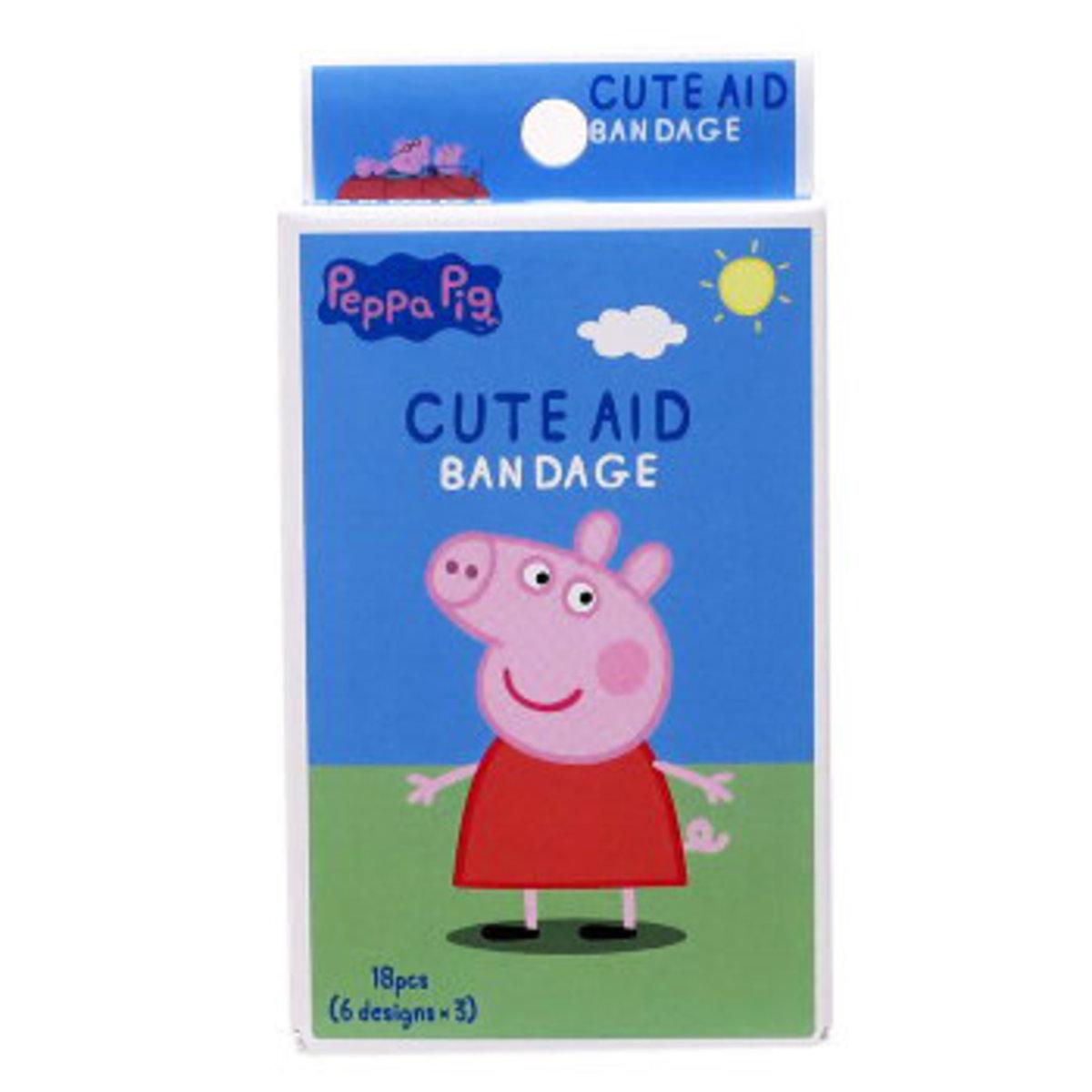 Peppa Pig 粉紅豬藥水膠布 18枚 (4525636259029)