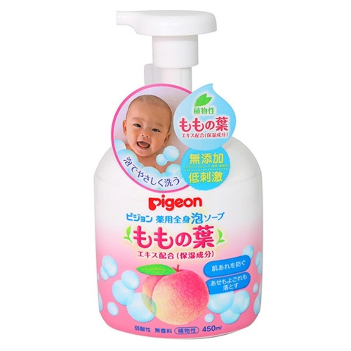 Baby沐浴泡沫慕絲 (桃葉) 450ml