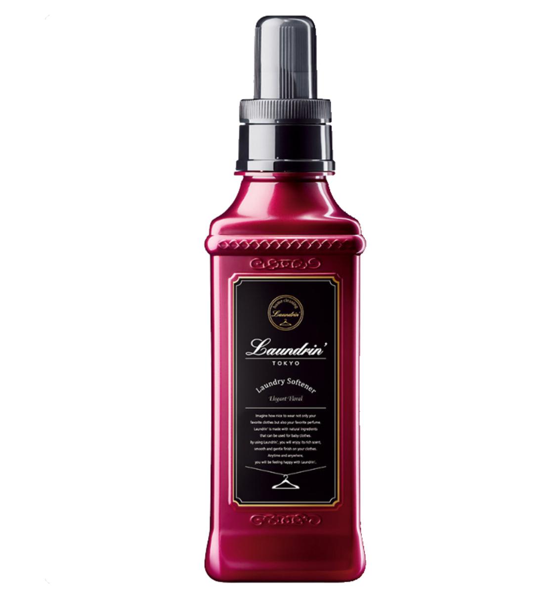 香水柔順劑 - 優雅花香 600ml (紅色)