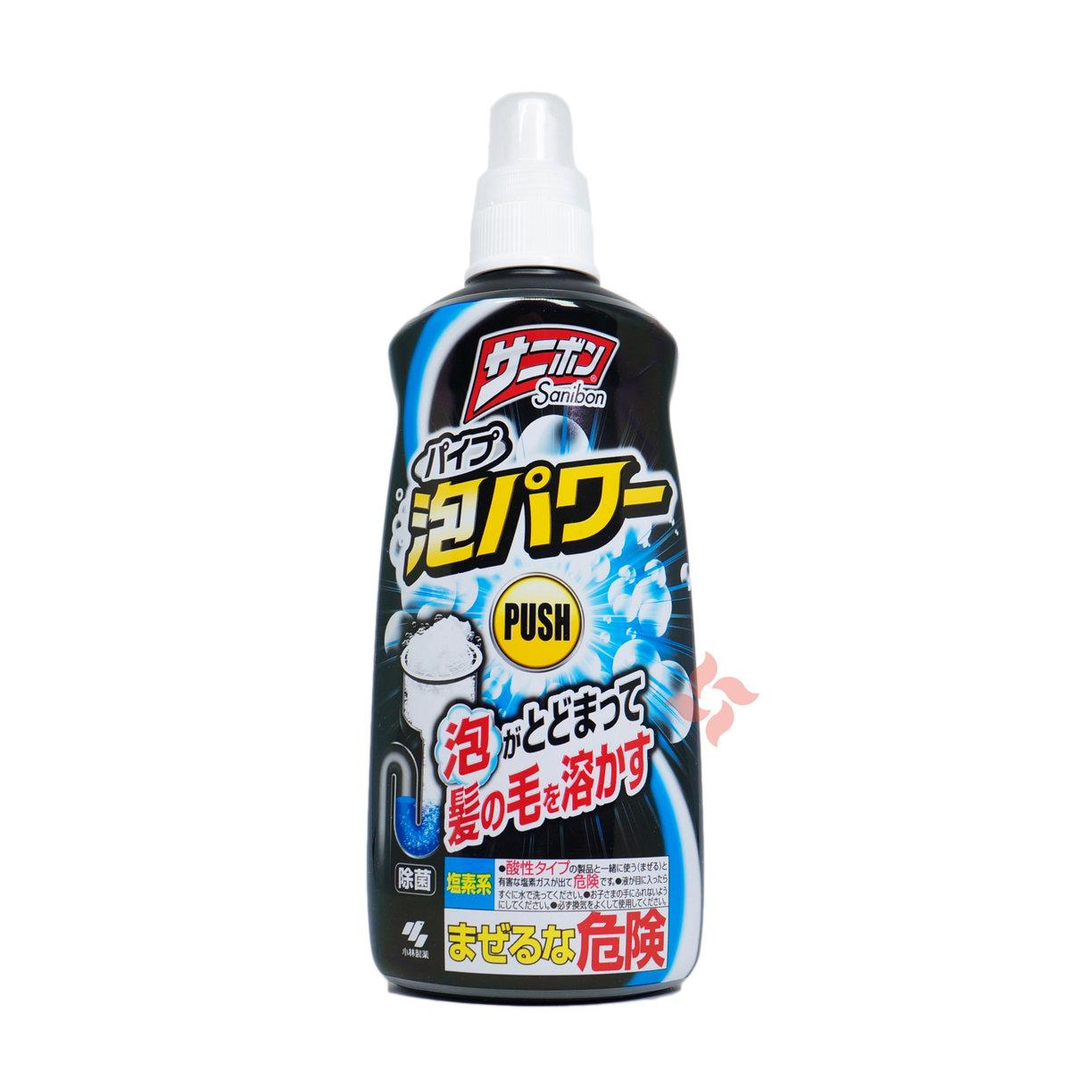 廚房廁所排水管疏通劑 泡沫裝 400ml (4987072032657)