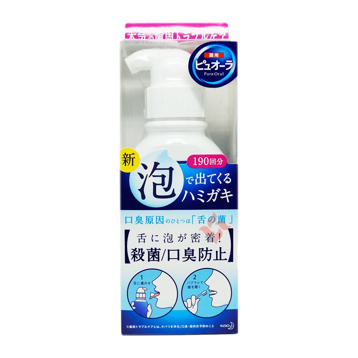 藥用預防口臭牙齦炎泡沫牙膏 190ml (4901301307828)