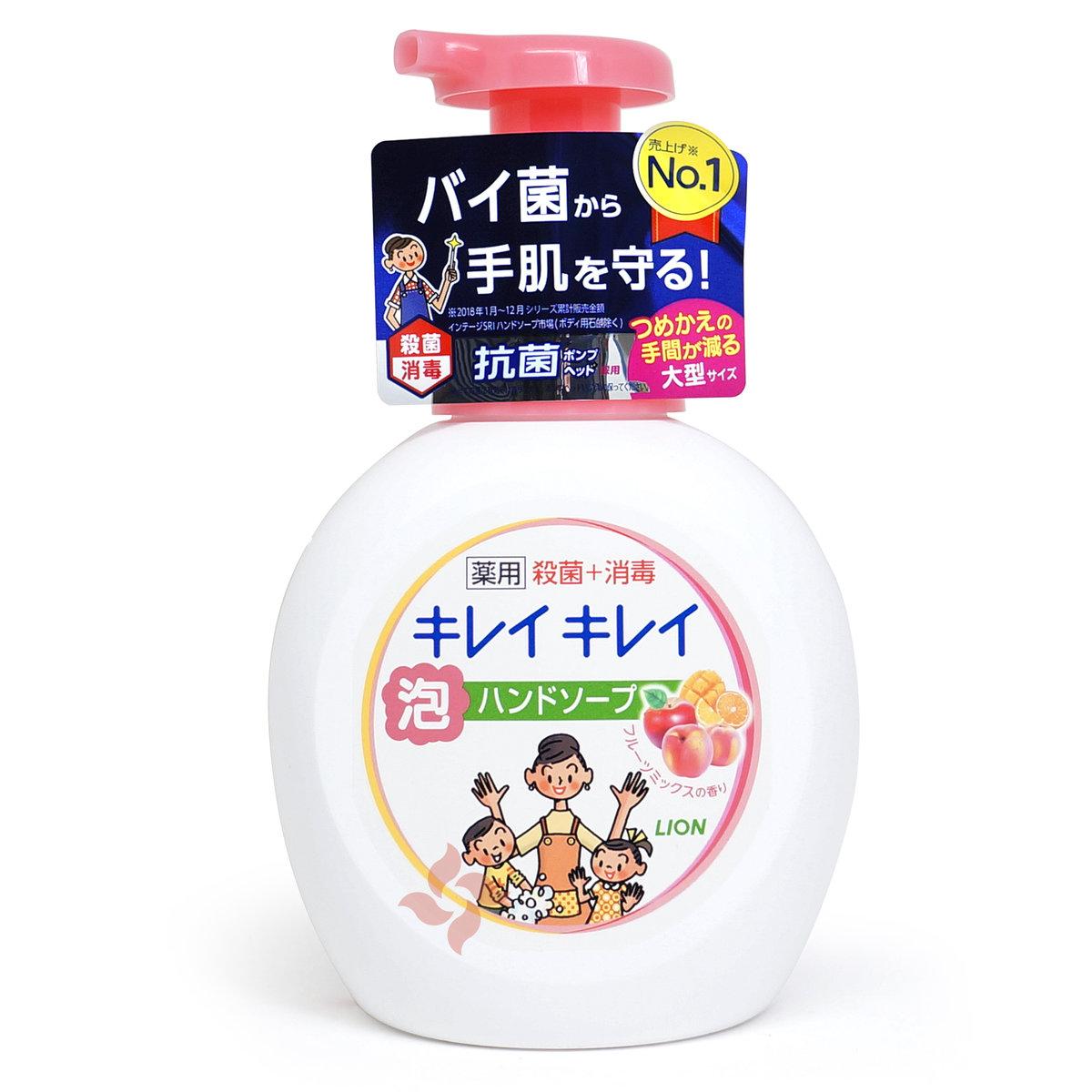 植物泡沫洗手液 500ml  水果香 - 粉蓋 (4903301269076)