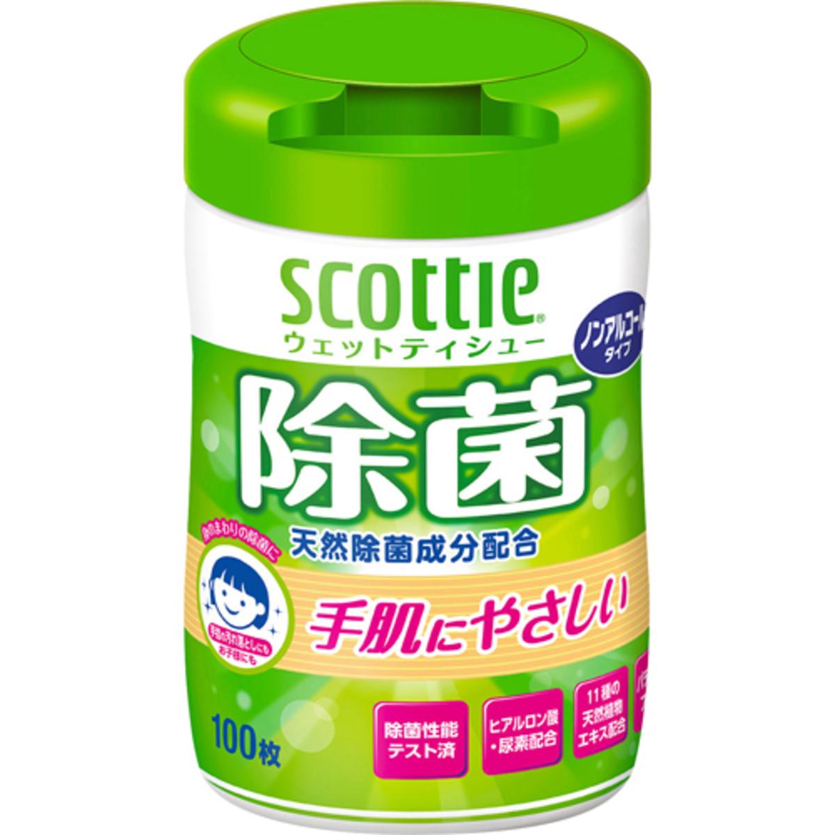 除菌濕紙巾 100抽 (嬰兒適用)  (4901750769703)