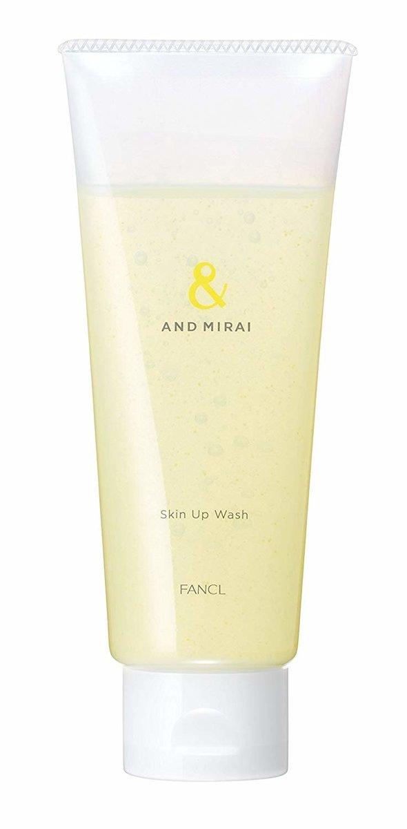 AND MIRAI Skin Up Wash 120g