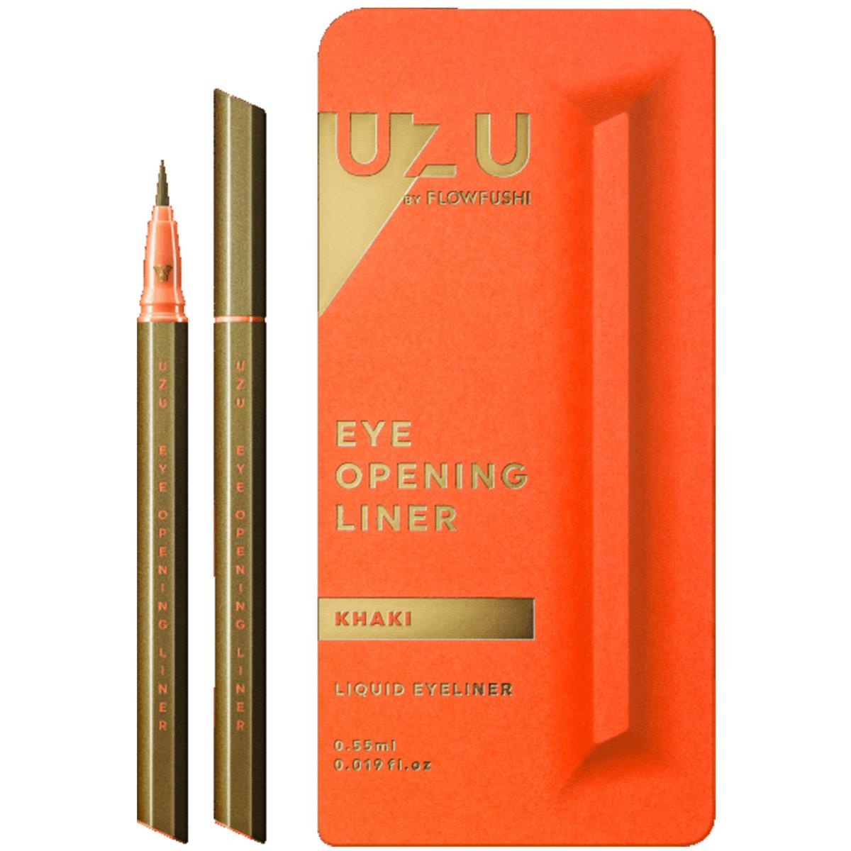 UZU Eye Opening Liner 0.55g (Khaki - Red Orange Box) (4571194364163)
