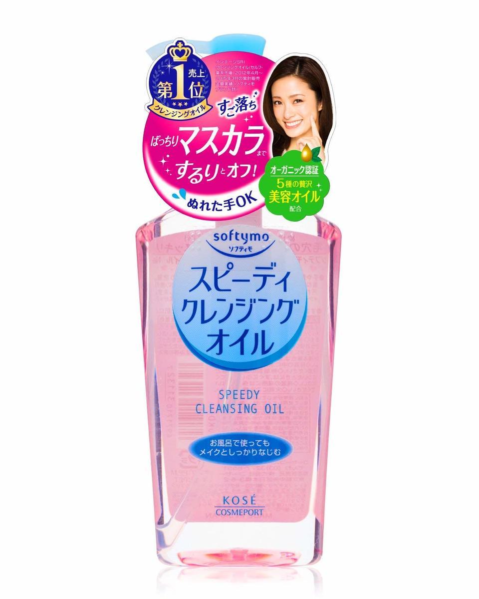 Softymo乾濕兩用瞬淨卸粧油 230ml