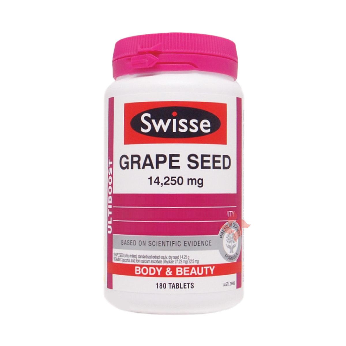 Ultiboost Grape Seed 14,250mg 180 Tablets (9311770597319)
