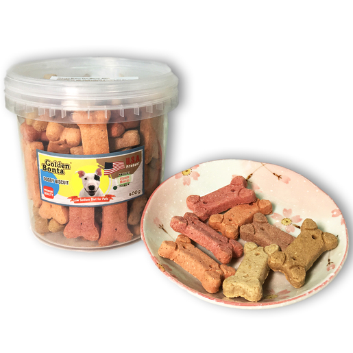 Dog Biscuits-400g (GB-400K)