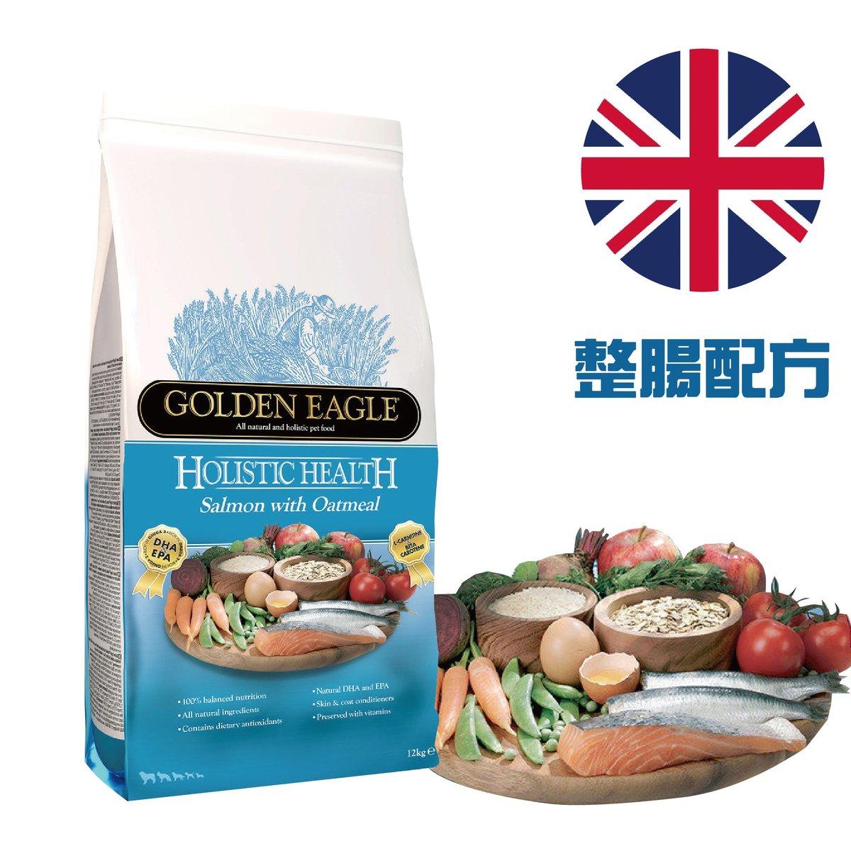 Holistic Salmon Oatmeal  12 kg GES-112)