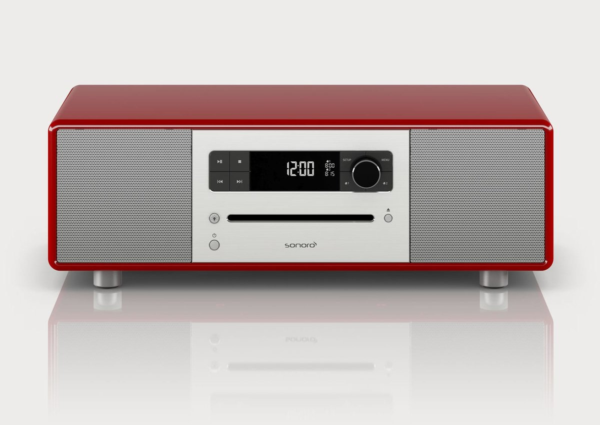 Stereo2 Speaker Red