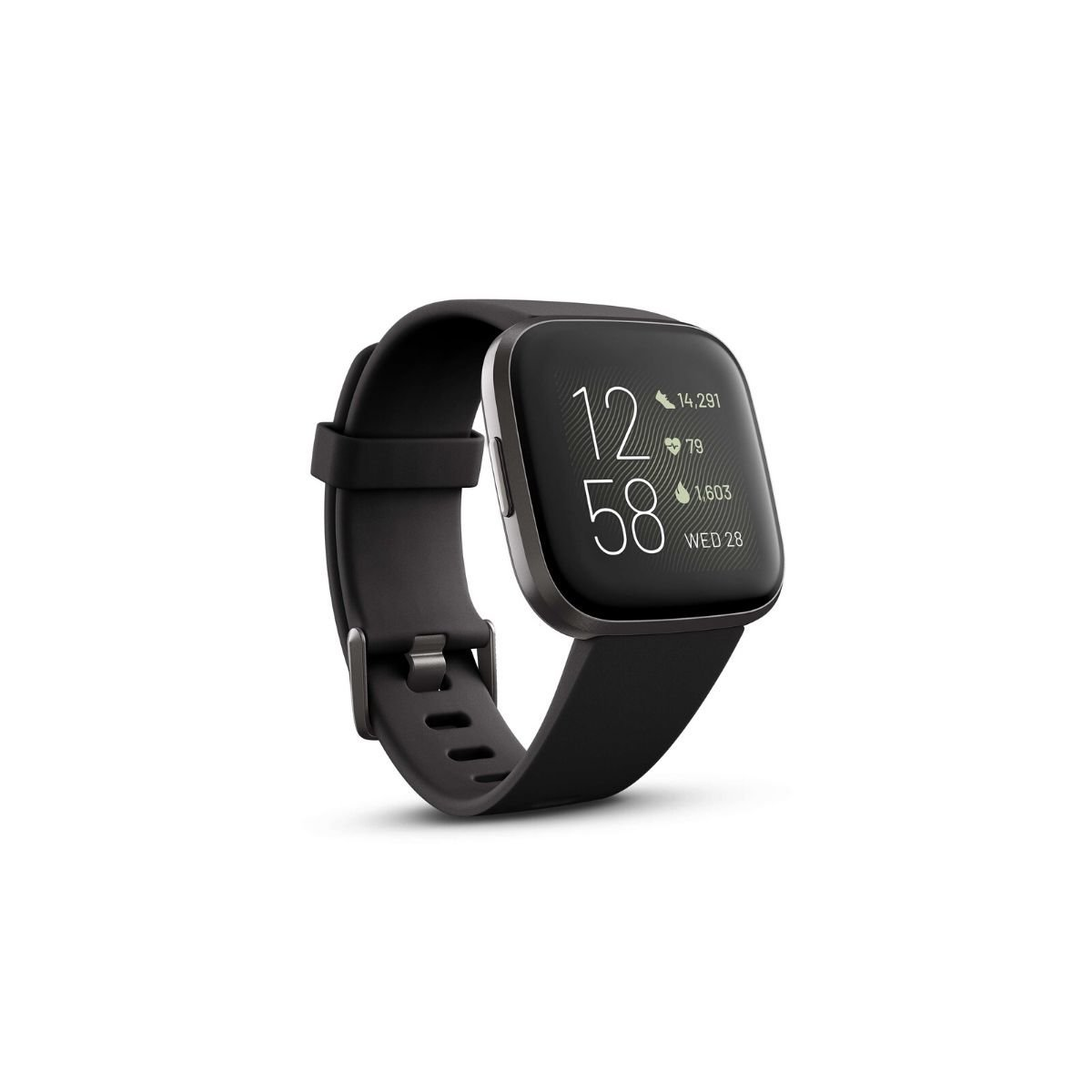 Versa 2 智能手錶-黑色/碳黑色【原裝行貨】