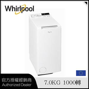 惠而浦 TDLR70120 置滾桶式洗衣機 「第6感」智能護色感應 / 7公斤 / 1000轉/分鐘 官方授權 | 原裝正品行貨