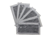 日本松本-[4層設計]灰色活性炭成人口罩- 50片獨立裝