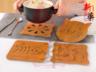 [大-小魚骨]廚房加厚防燙隔熱墊餐墊
