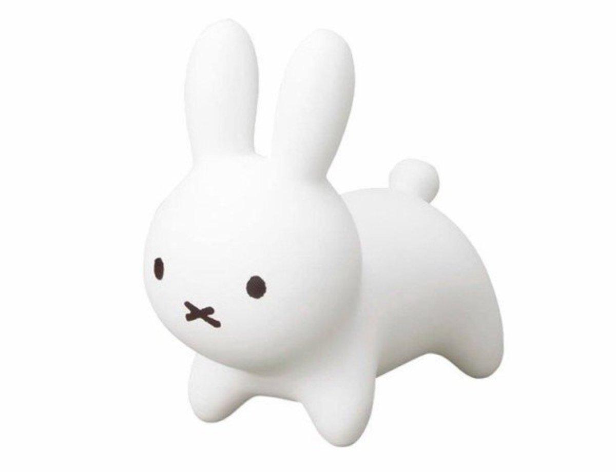 Miffy Bruna Bonbon mini搖鈴玩具 - 白色 (4523256066256)