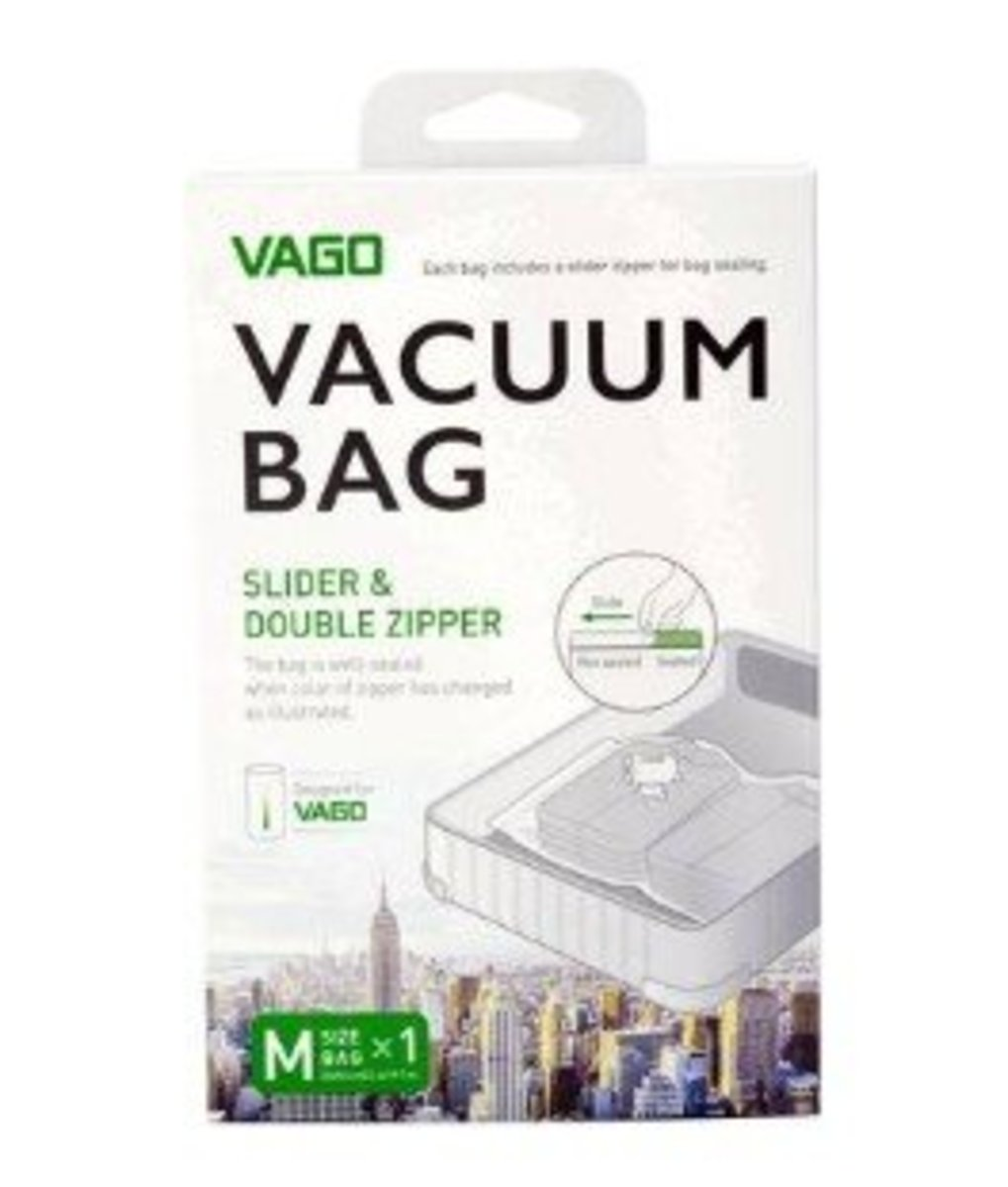 【M size 】Storage Vacuum Bag (For Vago Portable Compressor)