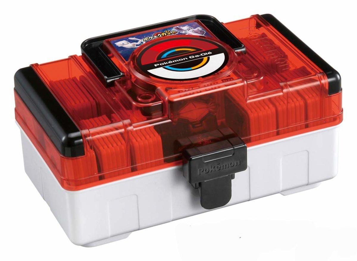 PokemonTRETTA Card (Big Size) Storage Box - Red (4904790209468)