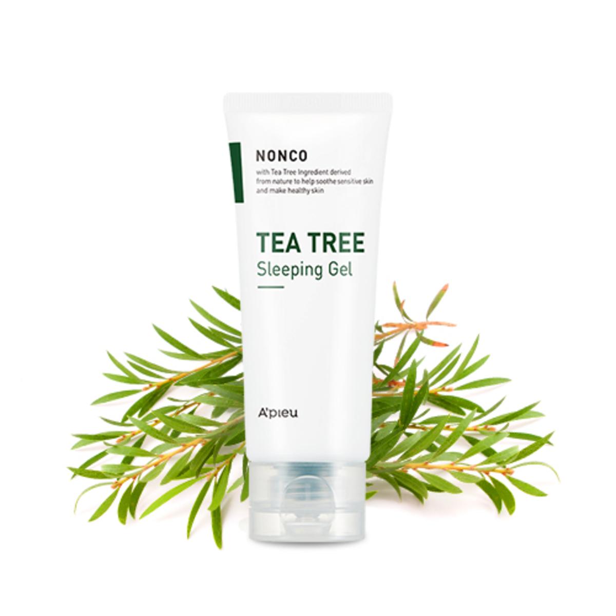 Nanco Tea Tree Sleeping Gel 80ml