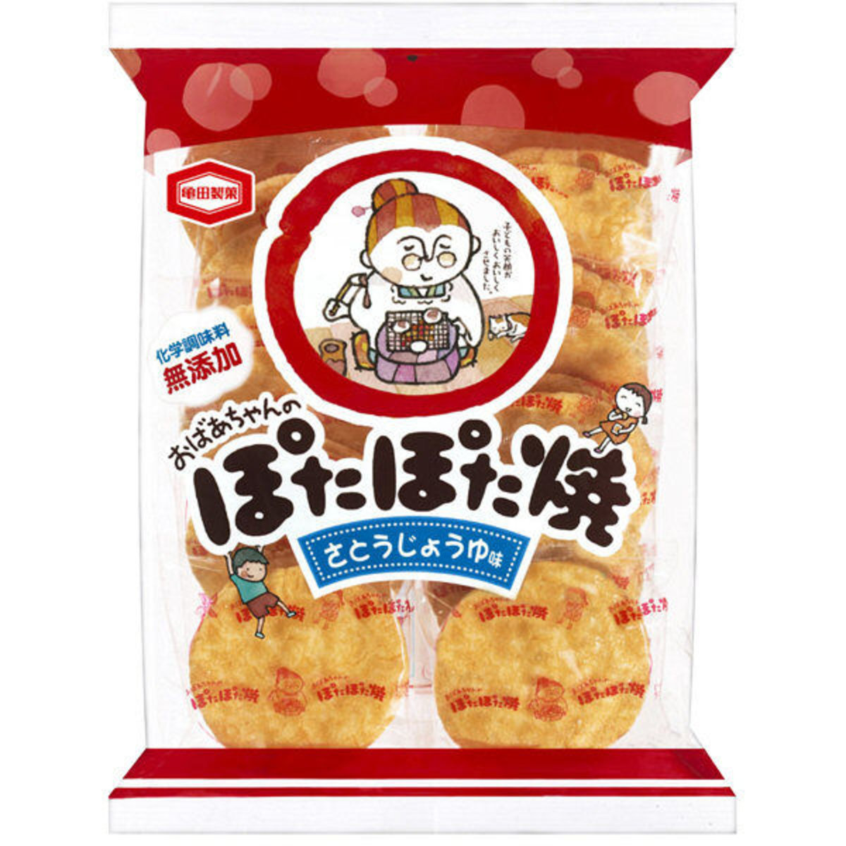 Soy Sauce with Sugar Rice Cracker 120g(20 pcs)