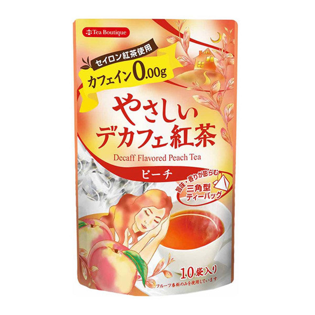 Decaff Flavored Peach Tea(1.2g×10pic) -Orange