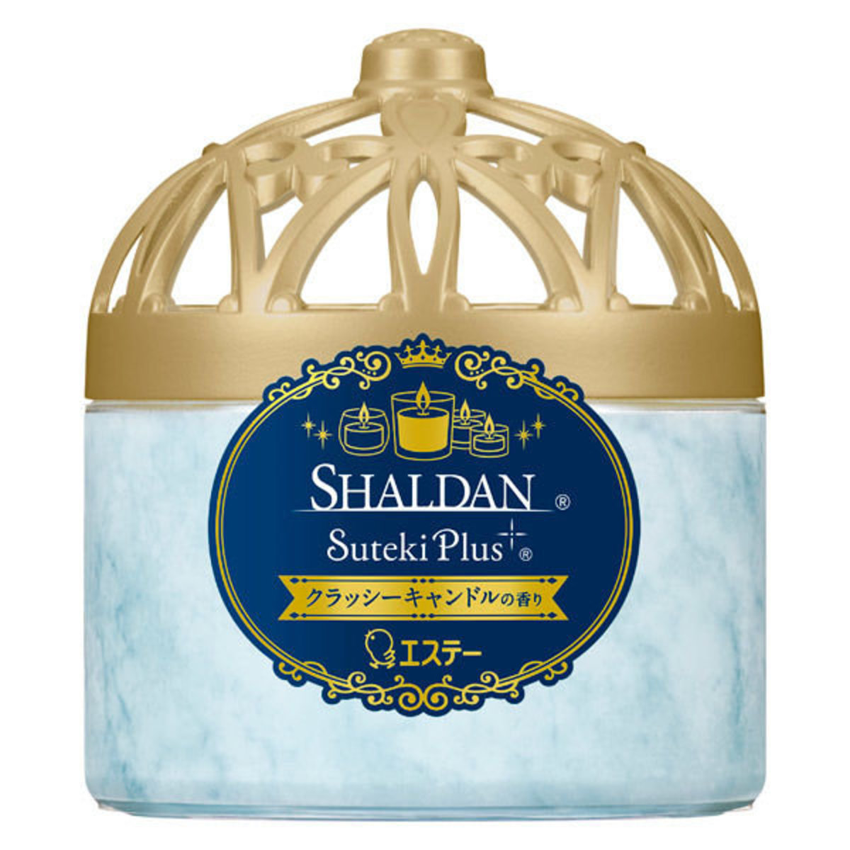 Suteki Plus 室內消臭芳香劑 260g - 香薰蠟燭(新版藍)