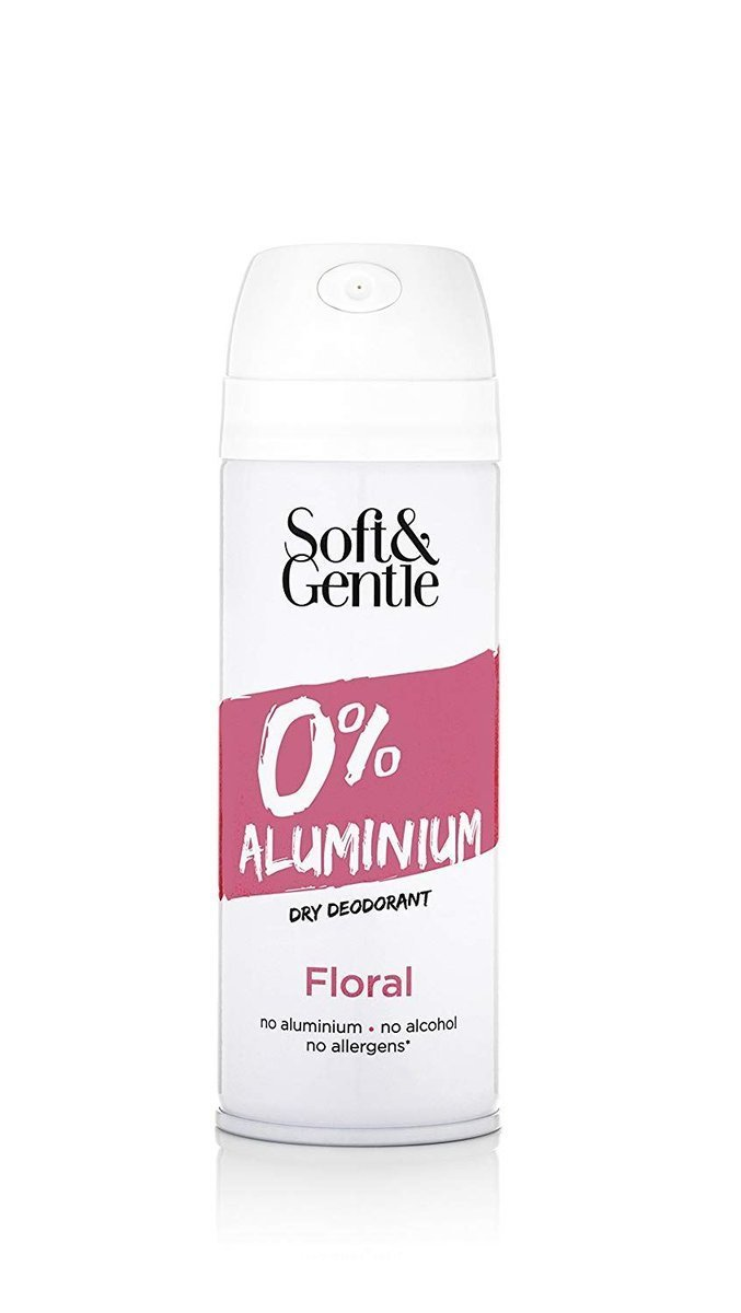 Floral 100% Aluminium Free Spray 150ml - pink