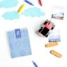 Boc'n'Roll 環保食物袋 Paint Blue Sea 藍色 (BNC-O001)